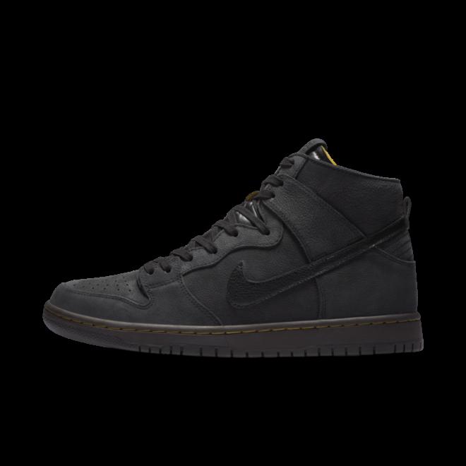 Nike SB Zoom Dunk HIgh Pro Decon PRM Black zijaanzicht