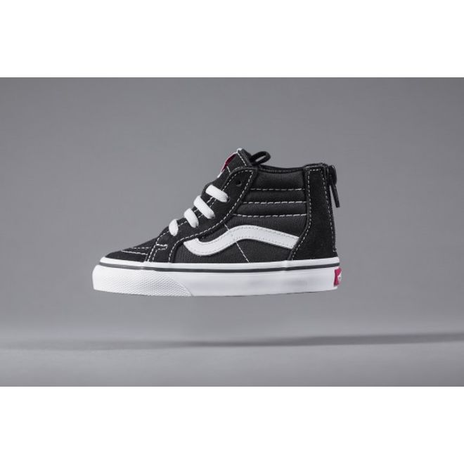 Vans Toddler SK8-Hi Zip Black