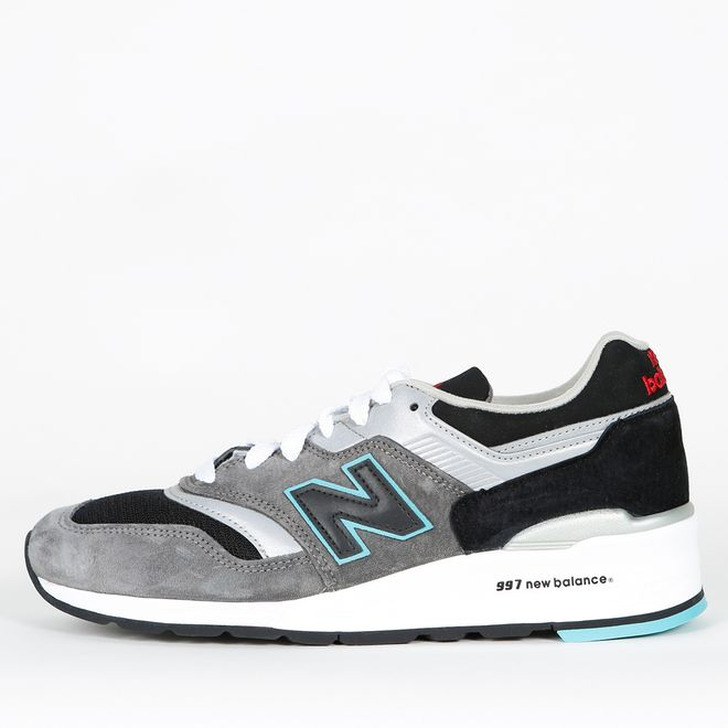 new product 1cecf be48e New Balance M997 CGB - Grey / Black Release Info 🔥 417171_60_122