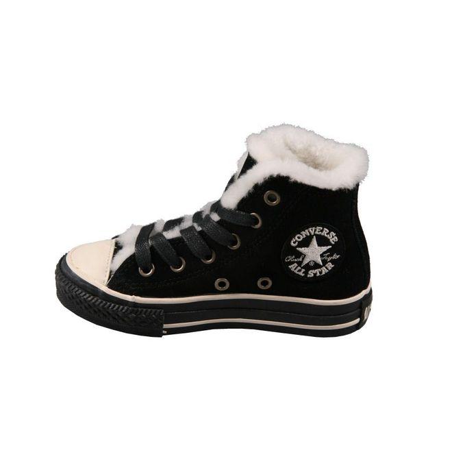 Converse All Star Kids Ct As Hi Yth Black