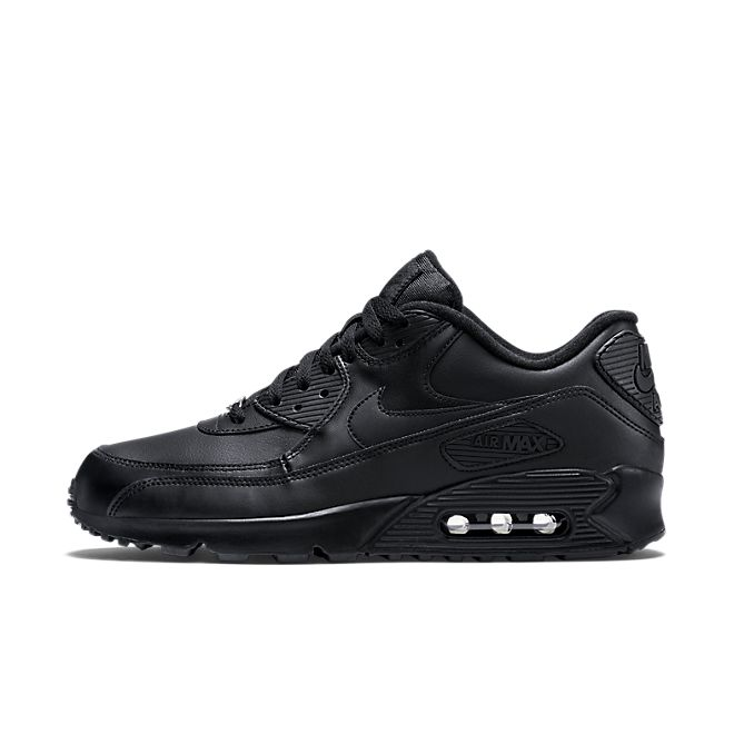 Nike Air Max 90 Leather 'Triple Black'