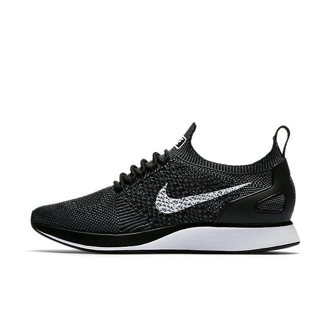 Nike Air Zoom Mariah Flyknit Racer 'Black/Dark Grey' zijaanzicht