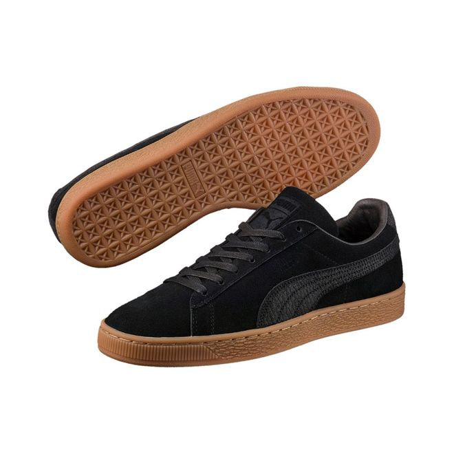 Puma Suede Trim   Wit   Sneakers   369639 04   Caliroots
