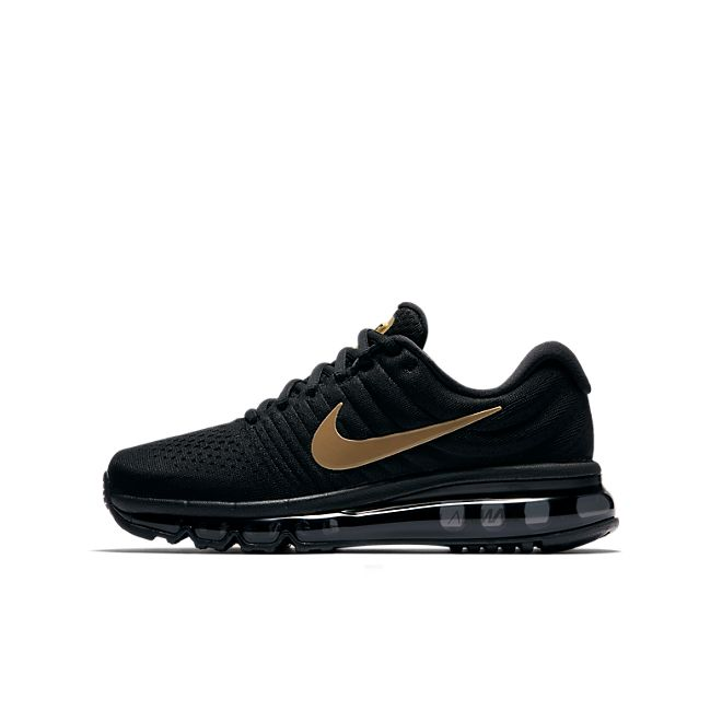 nike air max 2017 gs zwart