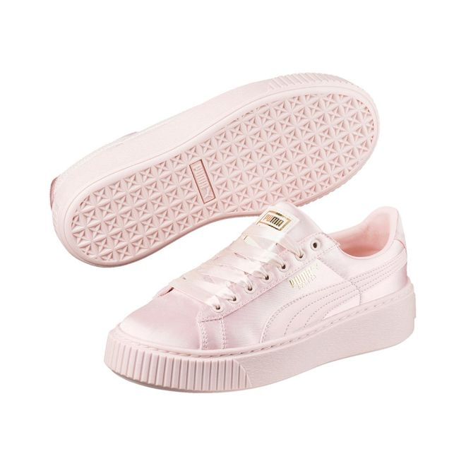 Puma Basket Platform Tween Jr