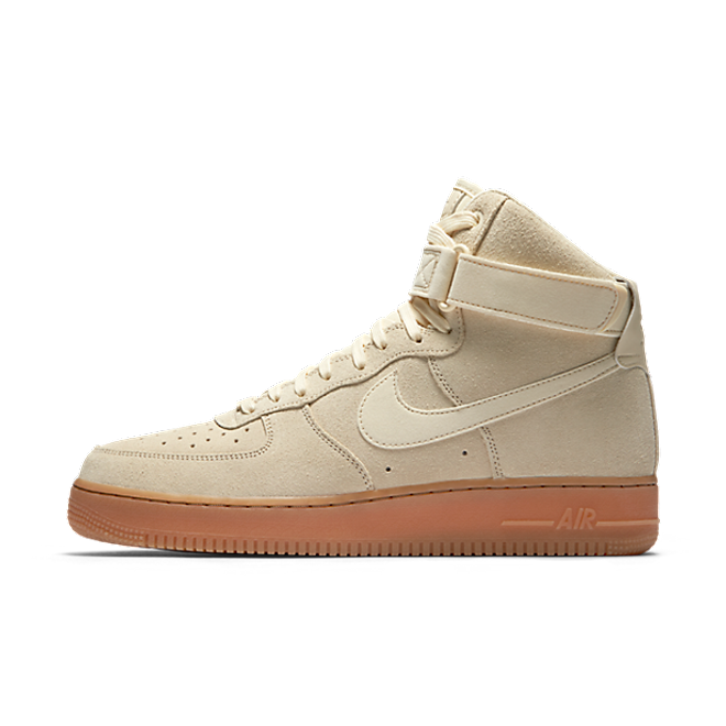 Nike Air Force 1 High 07 LV8 Suede Mushroom zijaanzicht