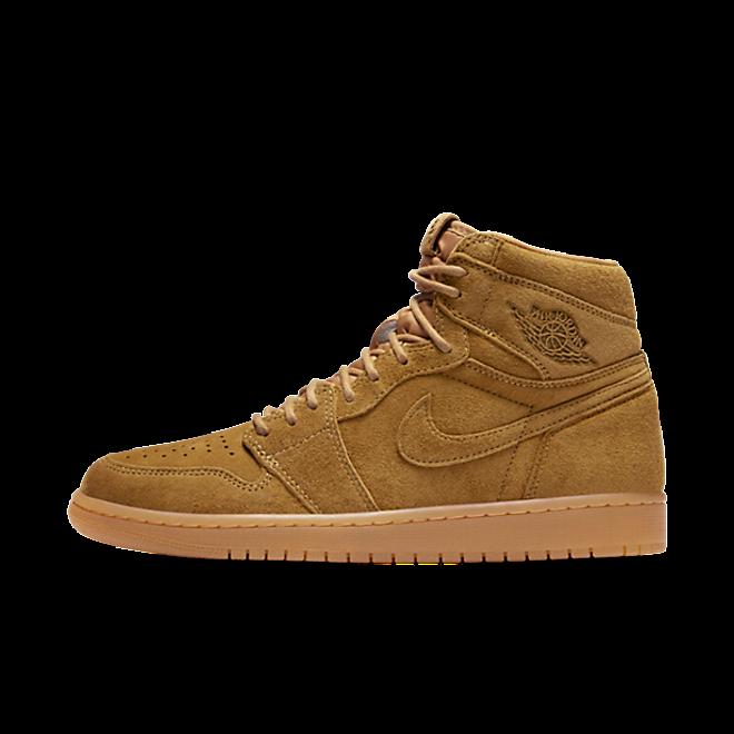 """Air Jordan 1 High OG """"Wheat"""" zijaanzicht"""