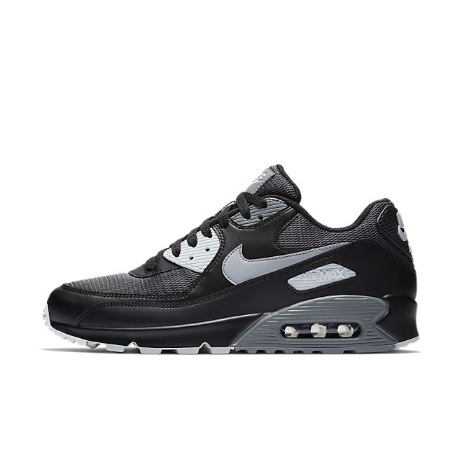 Nike Air Max 90 Essential 'Black' zijaanzicht