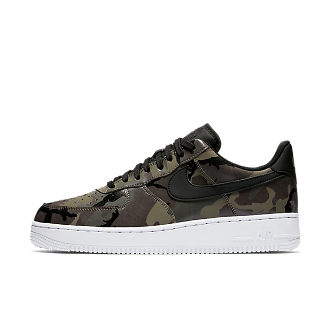 "Nike Air Force 1 '07 Lv8 ""Medium Olive/Black"" Camo"