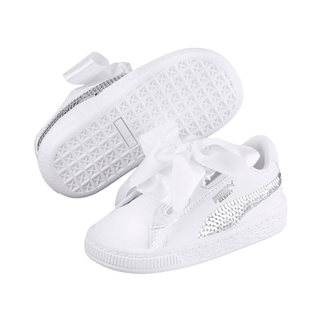 Todavía interfaz detalles  Puma Basket Heart Bling PS | 366848-02 | Sneakerjagers