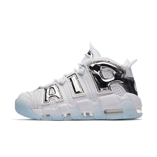 "Nike Air More Uptempo ""White/Chrome"""