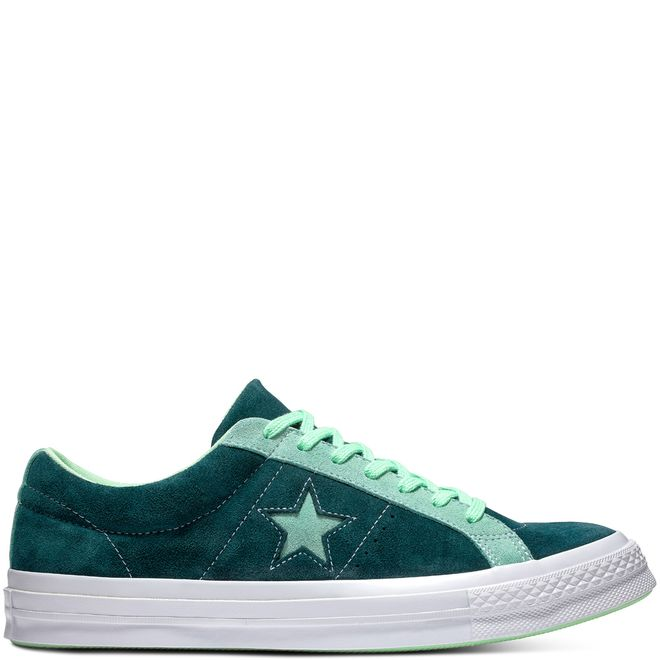 One Star Carnival Suede Low Top