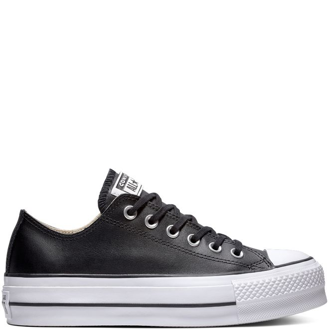 Chuck Taylor All Star Lift Clean Leather Low Top