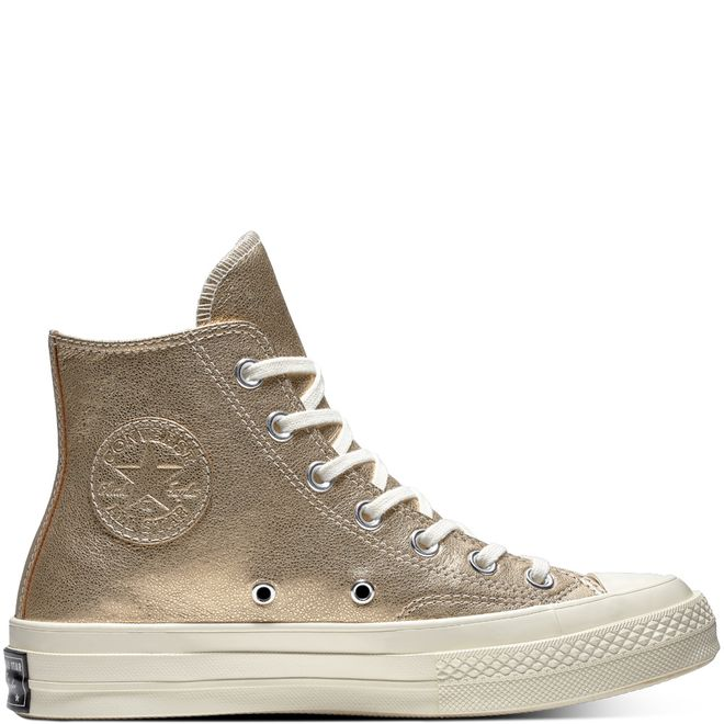 Chuck 70 Metallic Leather High Top