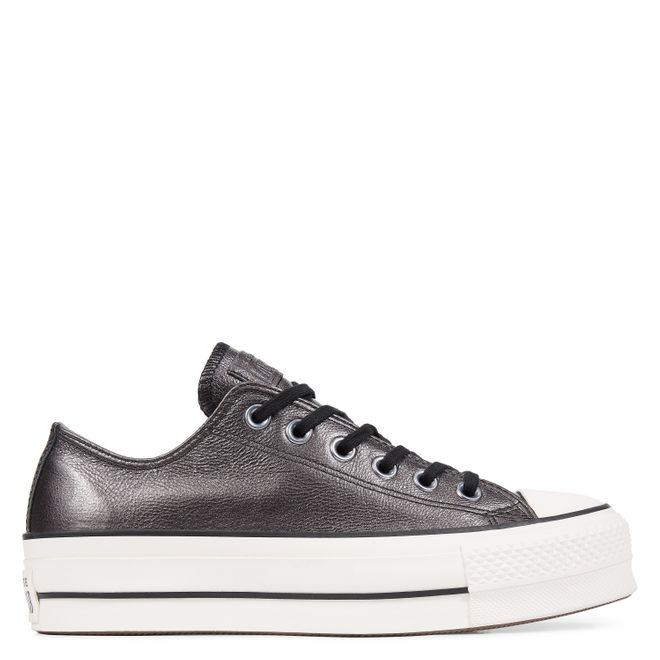 Chuck Taylor All Star Lift Metallic Leather Low
