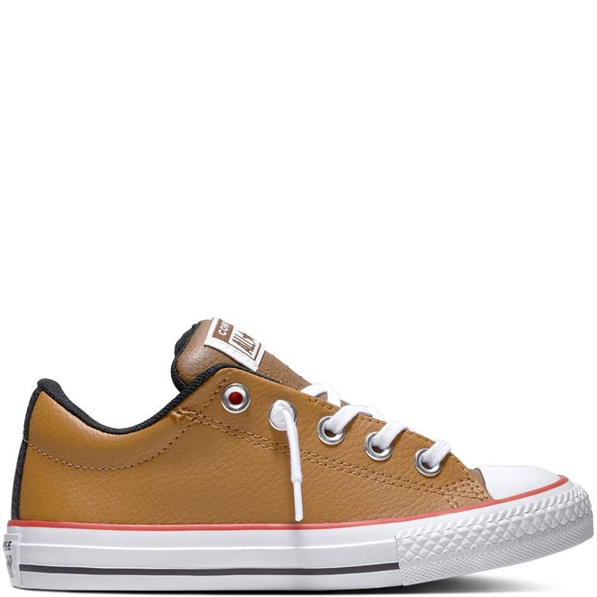 Chuck Taylor All Star Street Leather Slip