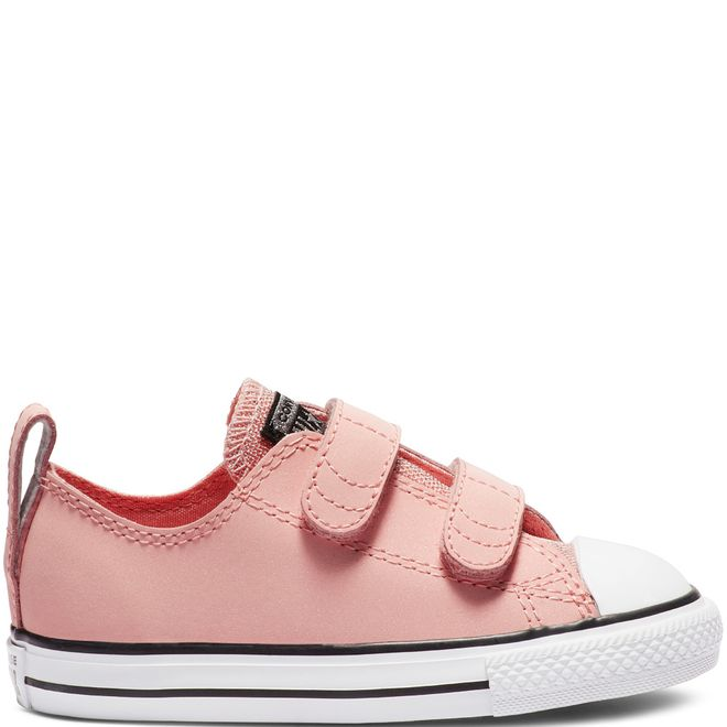 Converse Chuck Taylor All Star 2V Graphite & Glitter Leather Low Top