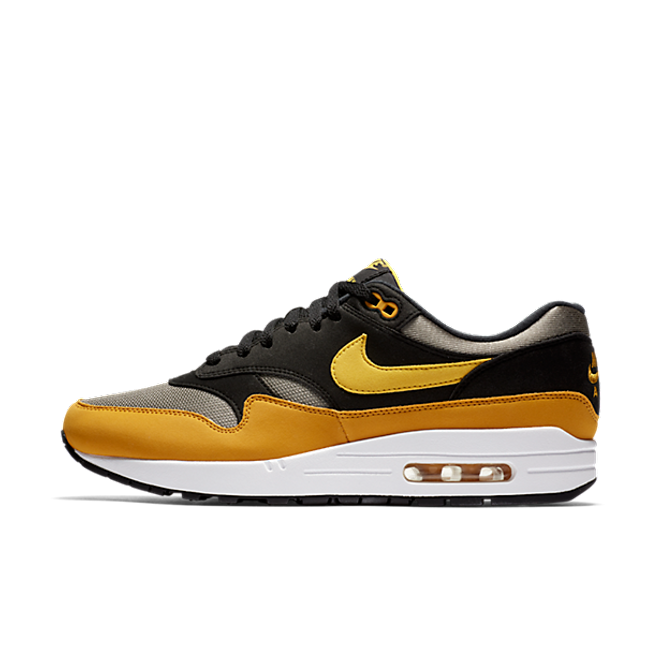 Nike Air Max 1 Yellow/Black-Cool Grey zijaanzicht
