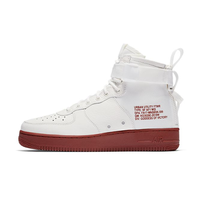Nike Special Field Air Force 1 Mid Ivory Mars Stone | 917753 100