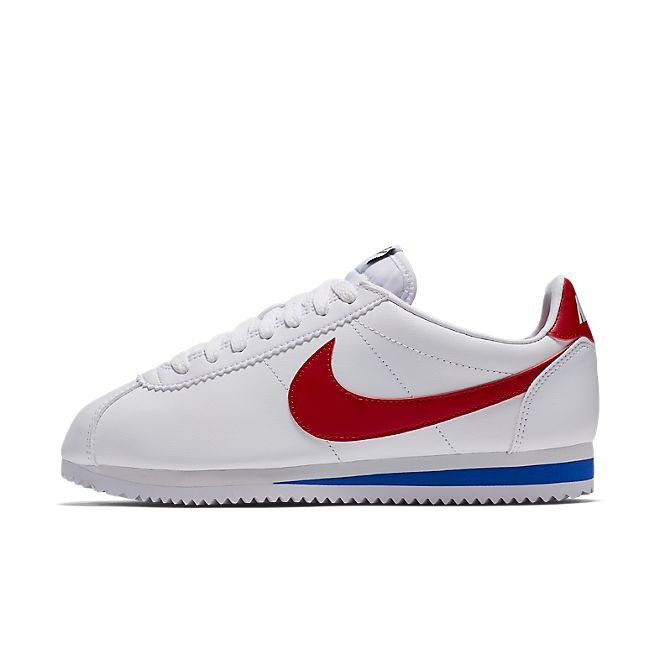 Nike Classic Cortez Leather OG Womens - White Red Royal