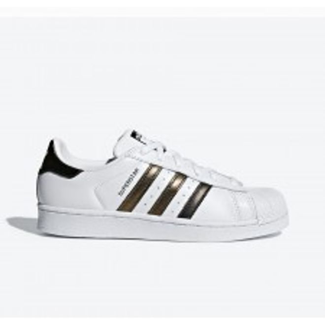 adidas Superstar womens - White Gold