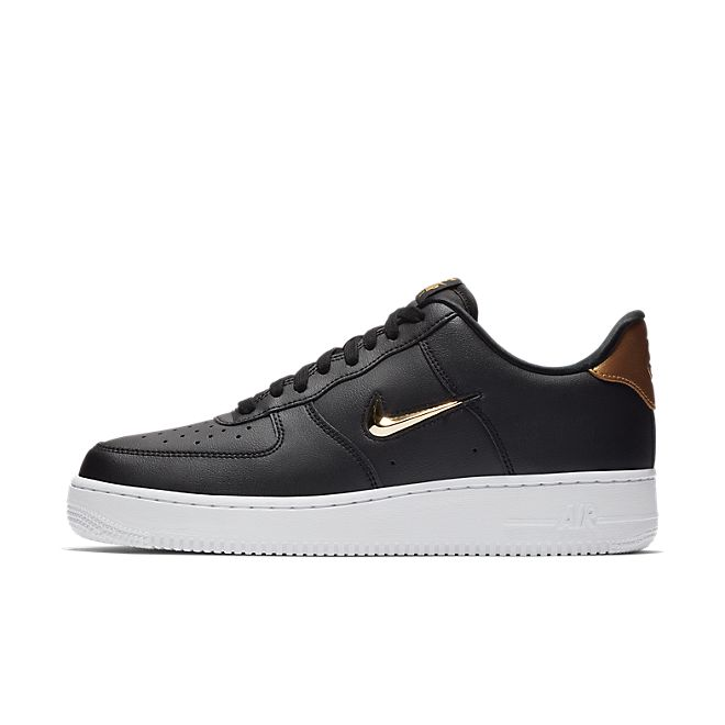 Nike Air Force 1 '07 LV8 Leather - Black Gold