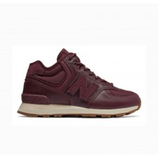 New Balance WH574BC Womens Sneakerboot - Burgundy
