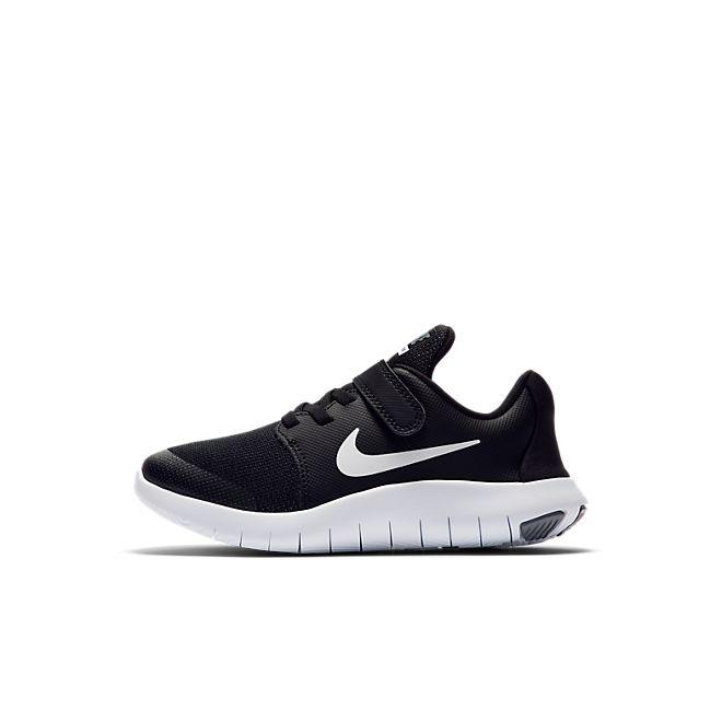 Nike Flex Contact 2 Kleuterschoen - Zwart