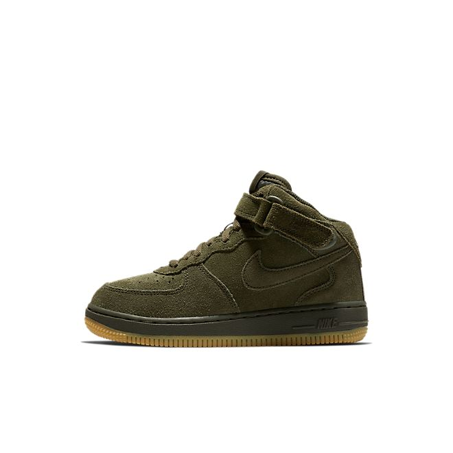 Nike Air Force 1 Mid LV8 Kleuterschoen - Olive
