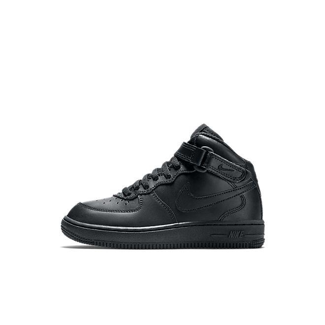 Nike Air Force 1 Mid Kleuterschoen - Zwart