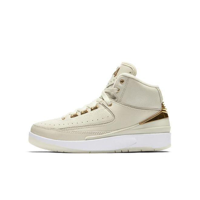 Air Jordan 2 Q54 Big Kids' Shoe (3.5y-7y) - Cream 866034-001