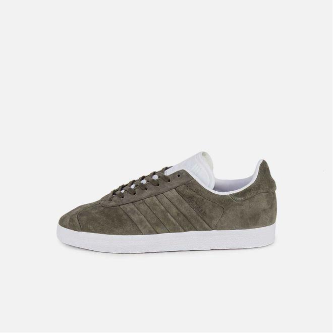 Adidas Gazelle Stitch and Turn Olive Green