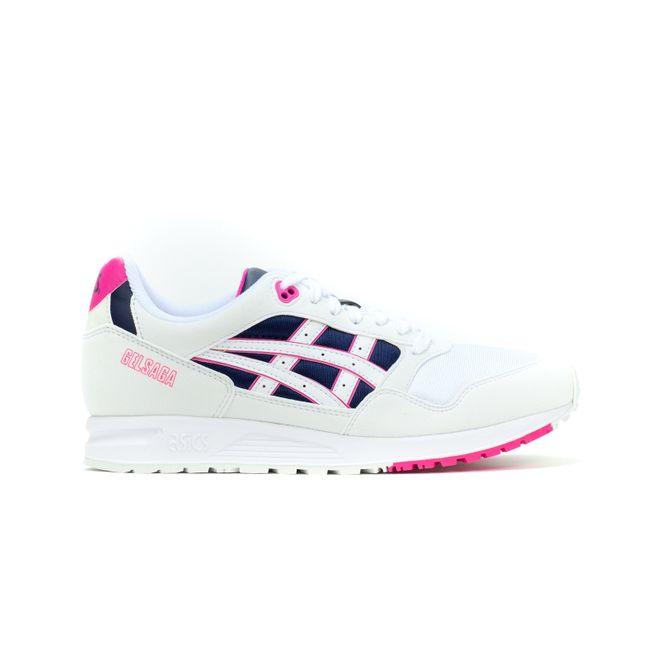 Asics Gel Saga (White / Pink)