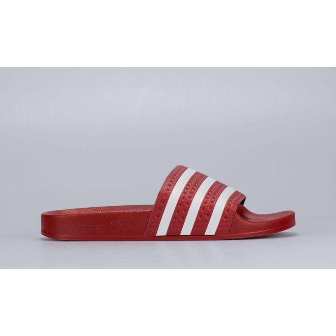 adidas Originals Adilette (Red / White)