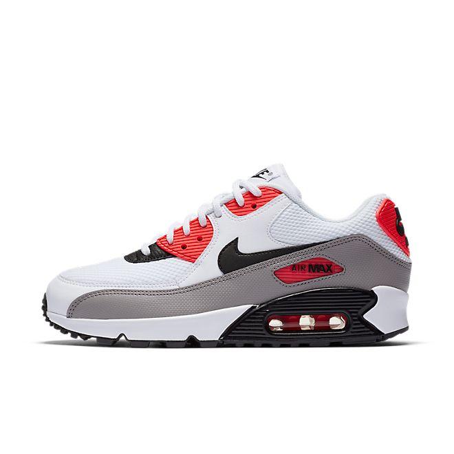 Nike Wmns Air Max  90 (White / Red)