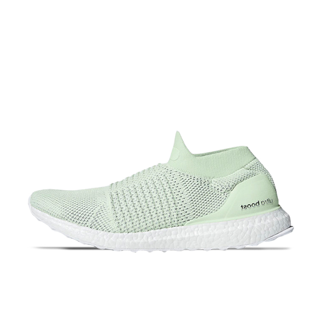 adidas Ultra Boost Laceless ' Green' zijaanzicht