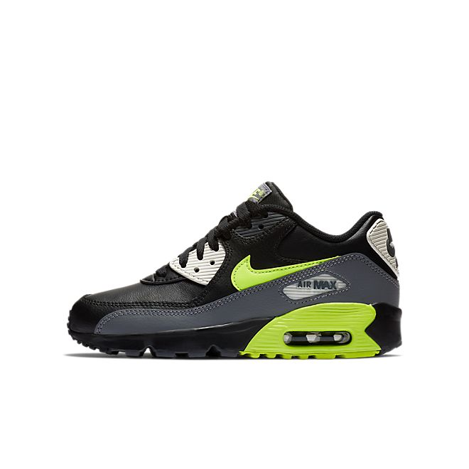 Nike Air Max 90 Youth GS shoes grey turquoise green