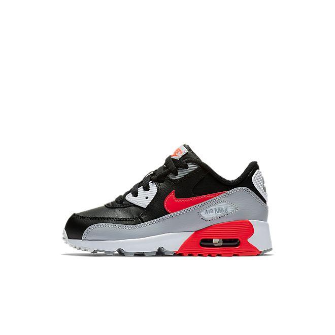 Nike Air Max 90 LTR (PS) (Grey / Red)