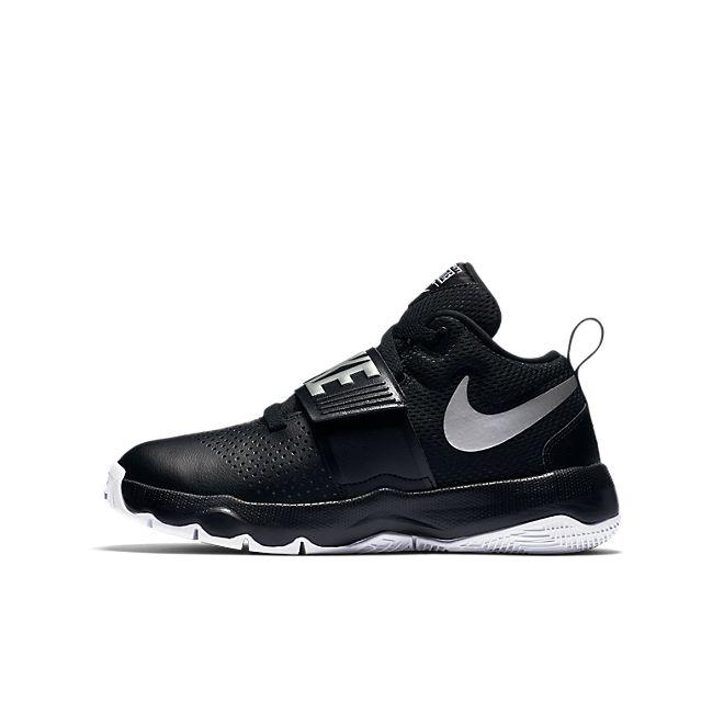 Nike Team Hustle D 8 (GS) (BLACK)