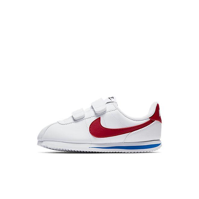 Nike Cortez Basic SL (PSV) (White / Red)