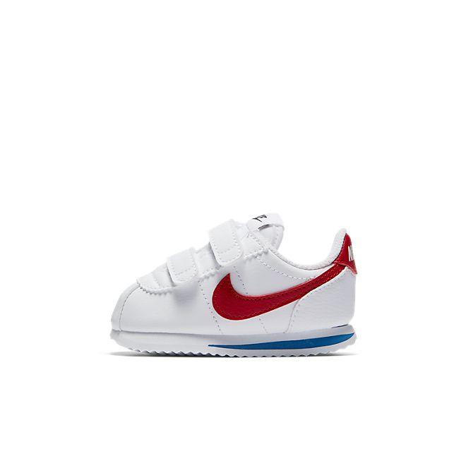 Nike Cortez Basic SL (TDV) (White / Red)