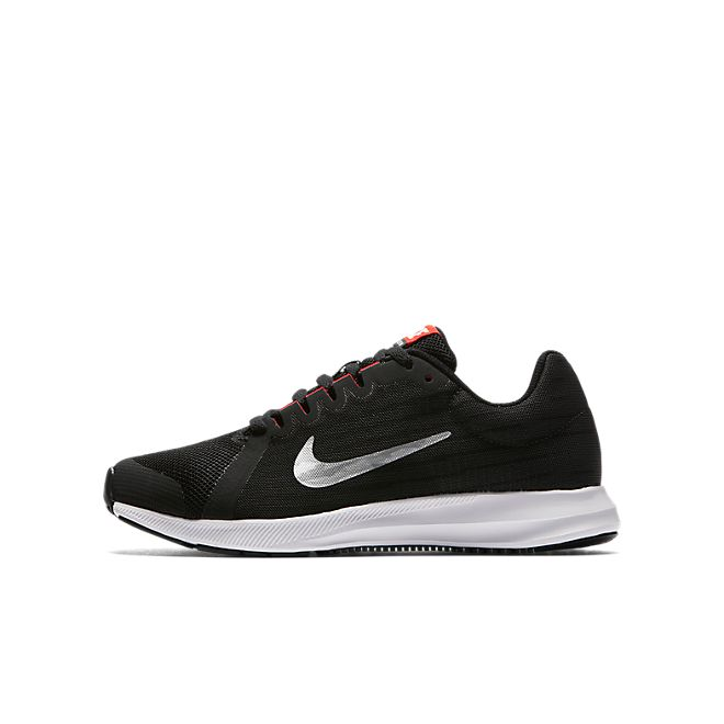 Nike Downshifter 8 (GS) (Black / Silver)