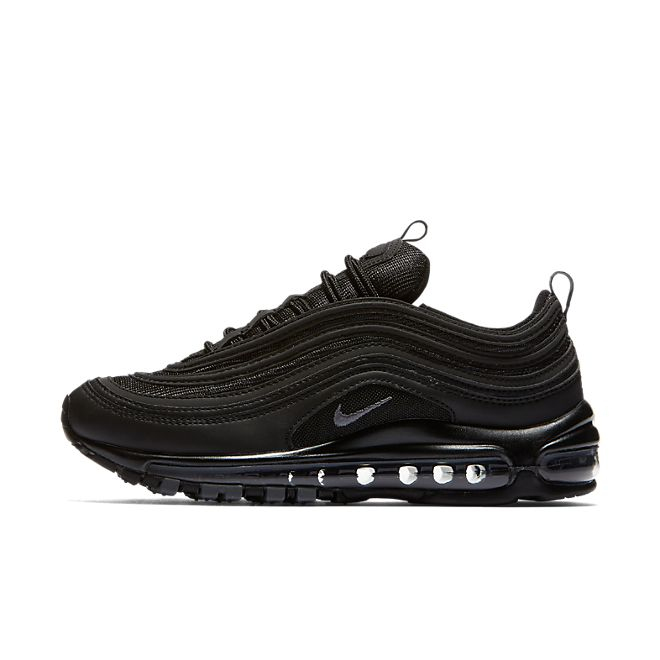 "Nike Wmns Air Max 97 ""Triple Black"" zijaanzicht"