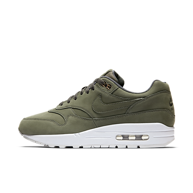 "Nike Air Max 1 Premium ""Nubuck Army Green"""