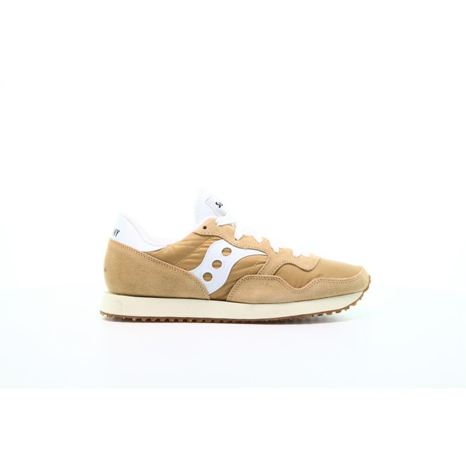 "Saucony DXN Trainer Vintage ""Tan White"""