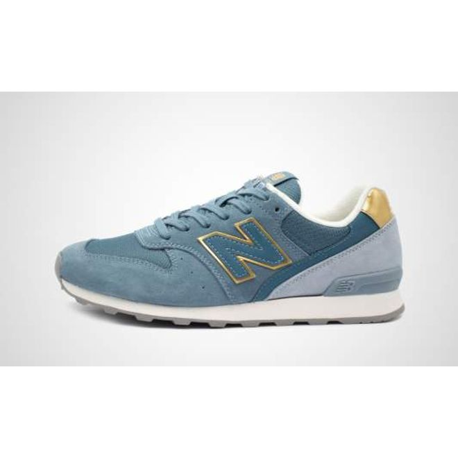 New Balance WR996FLP (blau / gold) | 658652-50-122 ...