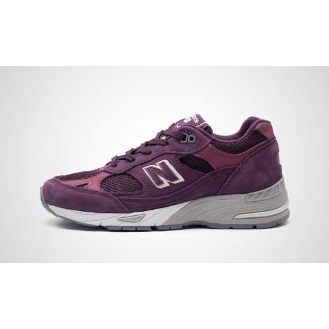"""New Balance W991DNS - Made in England """"Poisonous Plants Pack"""" zijaanzicht"""