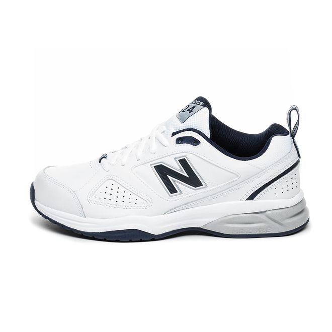 New Balance MX624WN4 (White / Navy)