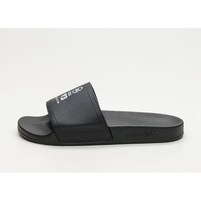 adidas Y-3 Adilette (Core Black / Ftwr White / Core Black)