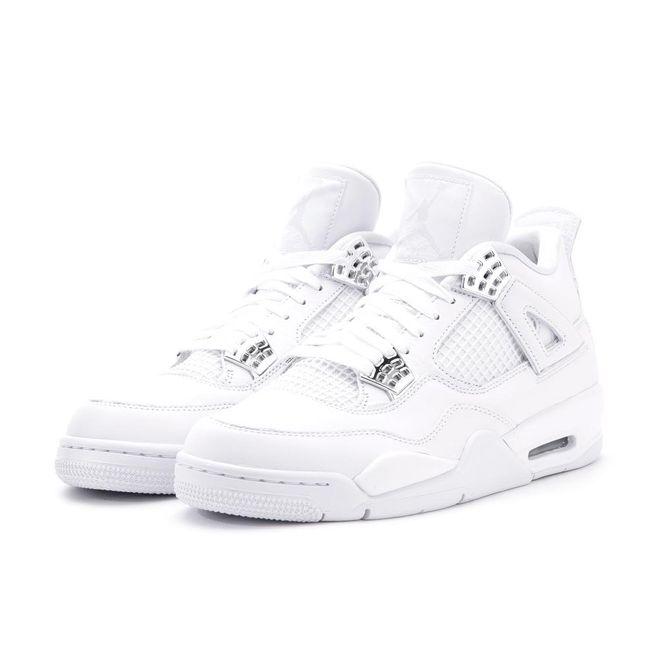 Air Jordan IV Pure Money zijaanzicht